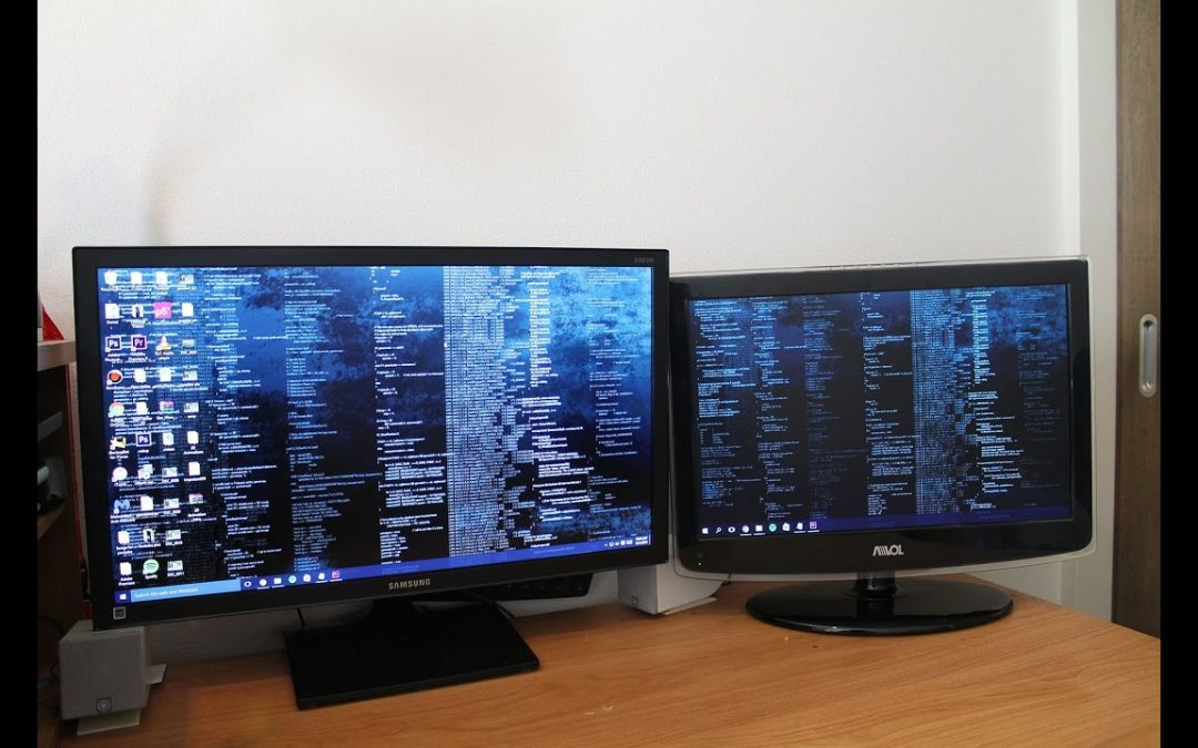 Increasing Performance with Dual Monitors